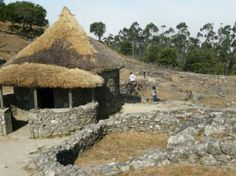 Santa Tecla Celtic Village, Galician Country.  Dating from at least the 2nd to 1st centuries BC.