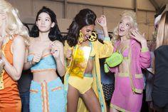 Milan Fashion Week Spring 2015 - Backstage at Moschino Spring 2015