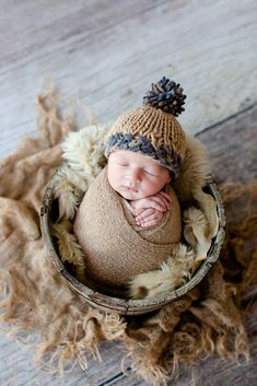 Baby Mohair knitting Bonnet Hat Newborn Photo Photography Prop Cap Outfits FB