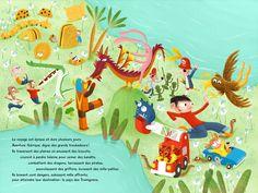 En route vers Le pays des Tromignons | Éditions Panda