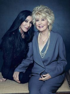Cher and her mother, Georgia.