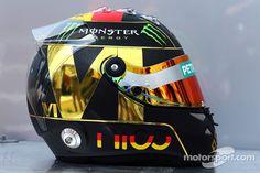 F1 helmet - Nico Rosberg