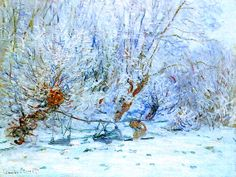 Monet  - The Frost.