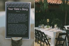 This couple used their family's silver and vases for the centerpieces, so every single table had a story behind it. Pretty rad.