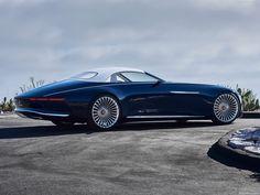Mercedes-Benz Vision Maybach 6 Cabriolet Concept Pebble Beach 2017