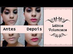 Como aumentar os lábios com batom por Rafaela Pinheiro!