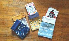 Tuto : coudre des pochettes à livres – Little Notebooks