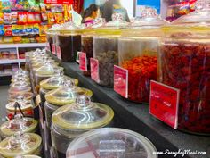 Top 10 Ways to Enjoy Li Hing Mui  Hawaii-style candy store — Camellia Imports at Queen Ka'ahumanu Center is one crack seed store that's been around for ages. Still looks and smells exactly the same as when I was a kid.