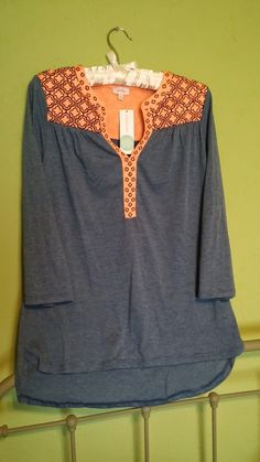 Stitch Fix: Pixley embroidered v-neck jersey top.would love this top! Stitch Fix Fall, Stitch Fix Outfits, Stitch Fix Stylist, Cute Tops, Fashion Outfits, Womens Fashion, Style Me, Simple Style, What To Wear