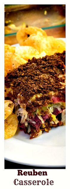 Reuben Casserole- A classic sandwich in a casserole! Everyone will go wild for it. http://12tomatoes.com/reuben-casserole/?utm_source=kp&utm_medium=paid-affiliate&utm_content=link&utm_campaign=reubencasserole