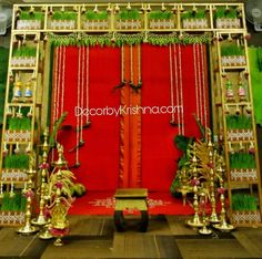 Beauty of traditional decor exemplified with amazing themes from is taking orders for eco-friendly home based events … - Moyiki Sites Marriage Decoration, Wedding Stage Decorations, Baby Shower Decorations For Boys, Festival Decorations, Hall Decorations, Arch Decoration, Flower Decoration, Cradle Ceremony, Entrance Decor