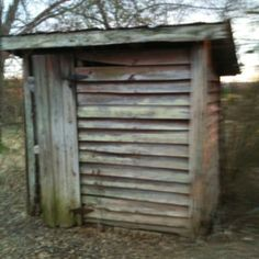 Outhouse - looks well ventilated
