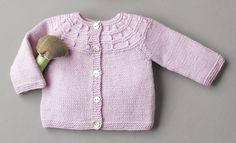 Heft Baby 70 Herbst / Winter | 6: Baby Jacke | Malve