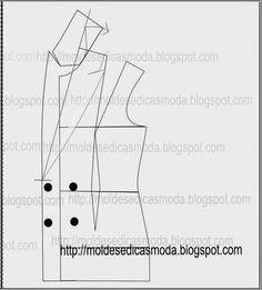 PASSO A PASSO MODELAÇÃO PÉ DE GOLA E GOLA (acertos) - Moldes Moda por Medida
