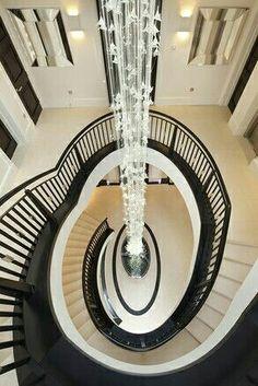 Cute long chandelier