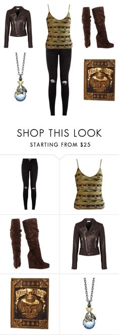 """Untitled #169"" by timefornews ❤ liked on Polyvore featuring Emilio Pucci, Michael Antonio, Balenciaga and Stephen Webster"