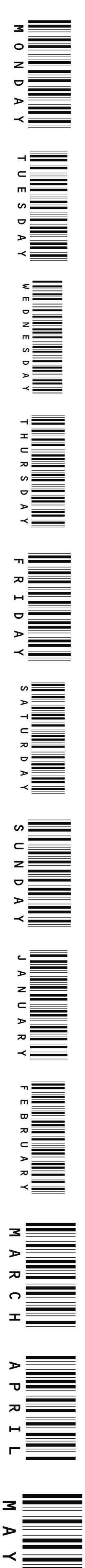 Text Barcodes by meowshoe on Polyvore featuring fillers, phrase, quotes, saying, text, words and backgrounds