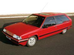 1986 Citroën BX Break De Chasse Dyana Prototype by Heuliez Citroen Ds, Psa Peugeot Citroen, Peugeot 309, Citroen Concept, Jaguar Type E, Wagon Cars, Roadster, Shooting Brake, Station Wagon