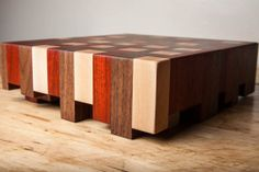 Staggered Endgrain Butcher Block by BiltSharp on Etsy, $165.00