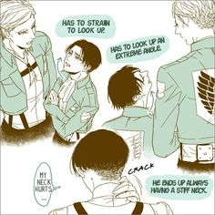 Capitan Erwin Smith x Corporal Levi Rivaille Ackerman ~ SnK | AoT by нιĸarι нaтѕυмoтo | We Heart It