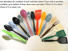 Hey, I found this really awesome Etsy listing at https://www.etsy.com/listing/154036061/nylon-plastic-kitchen-utensils-ekco