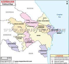 Azerbaijan Map. Azerbaijan, the nation and former Soviet republic ...