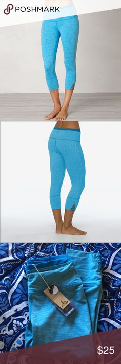 prAna Tori Capri Product details Heathered polyester/spandex blend hugs your body for a snug fit Fabric wicks moisture and dries quickly to keep you comfortable during intense sessions Gusset lets you stretch and reach with ease Elastic waistband holds capris in place Fabric is bluesign® approved Prana Pants