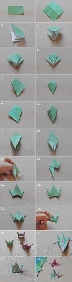 Best Origami Tutorials - Bird Origami - Easy DIY Origami Tutorial Projects for With Instructions for Flowers, Dog, Gift Box, Star, Owl, Buttlerfly, Heart and Bookmark, Animals - Fun Paper Crafts for Teens, Kids and Adults http://diyprojectsforteens.com/best-origami-tutorials