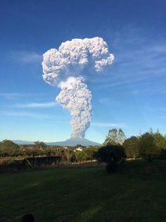 Volcán Calbuco - Chile - 22/abril/2015 16.00 hrs