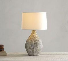 Lima Ceramic Lamp Base #potterybarn
