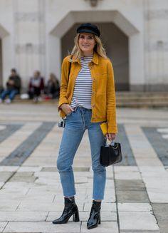London Fashion Week Street Style Februar 2016 | POPSUGAR Deutschland Mode