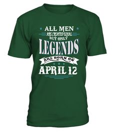Legends are born on April 12  #videogame #shirt #tzl #gift #gamer #gaming