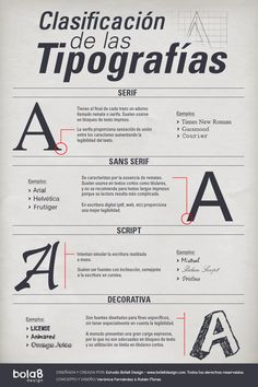 Resultado de imagen de mejores familias tipograficas