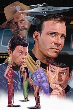 Star Trek Mudds Women by jlbanchick on DeviantArt Star Trek Original Series, Star Trek Series, Tv Series, Science Fiction, Stargate, Akira, Star Trek Posters, Star Trek 1, Star Trek Episodes
