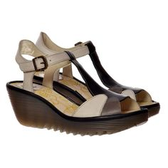 FLY LONDON WOMEN'S YILA WALKING COMFY PLATFORM WEDGE  SANDAL | Clothing, Shoes & Accessories, Women's Shoes, Sandals & Flip Flops | eBay!