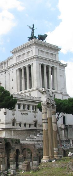 Capitol from Forum Romanum, Rome, Italy