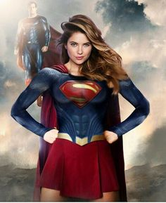 Supergirl and Superman Supergirl Comic, Supergirl And Flash, Superman Art, Superman Family, Supergirl Pictures, Dc Cosplay, Female Hero, Lego Super Heroes, Marvel Dc Comics