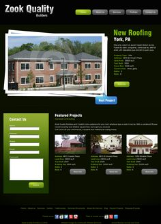 Website Preview for Remodeling Company in Kirkwood, PA 'http://ecplaces.com/preview/example2/' snapped on Snapito!
