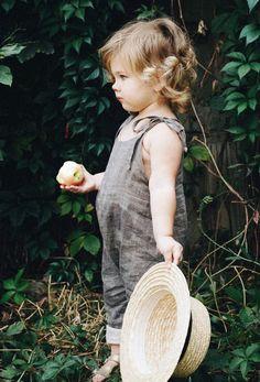 Lovely Handmade Linen Baby Toddler Romper | Etsy