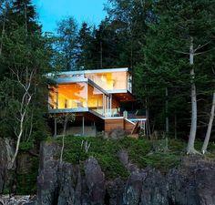 Gambier Island House by Mcfarlane Green Biggar