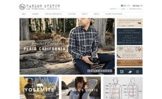 Taylor Stitch's online store just makes you feel like buying everything!