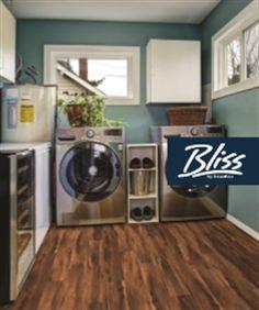 """Beaulieu Bliss Impervio New Standard Spalted- 6"""", luxury vinyl floor, hardwood alternative, waterproof floor, Green Guard floor, wide plank floor, bathroom floor, basement floor, floors for pets, floors for kids, red floor, dark brown floor"""