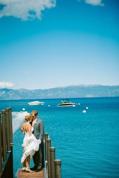 Lake Tahoe destination weddings by Annie Photographie