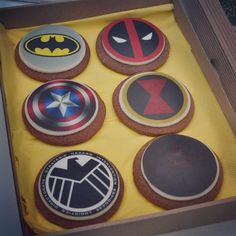 Gingerbreads, cookies, Marvel, Movies