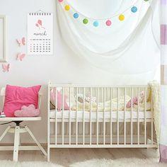 12 Month Calendar Yearly Calendar Nursery Calendar 2018