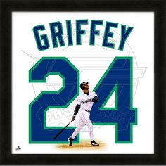 "Seattle #Mariners Ken Griffey Jr. 20""x20"" $59.99"