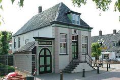 Het oude raadhuis in Oudkarspel. Nu museum 't Regthuis.