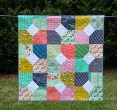 Meadow Mist Designs: Layers of Charm with the Fat Quarter Shop   layer cake and charm pack   57.5 square.