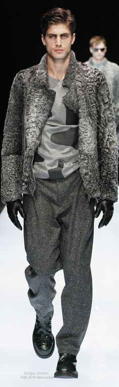 Emporio Armani Fall 2016 Menswear Looks Style, My Style, Chic Outfits, Fashion Outfits, Love Fashion, Mens Fashion, Mens Fur, Sharp Dressed Man, Clothing Co