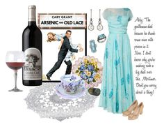"""❖ Movies of the 1940s ❖ Decade Movie/Fashion - Arsenic & Old Lace (1944)"" by foreevers ❤ liked on Polyvore featuring Dolci Follie, Norman Hartnell, Tory Burch, Emma Chapman and Match"